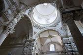Santa Croce Basilica. Lecce. Puglia. Italy. — Stock Photo