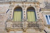 Паладини дворец. Лечче. Апулия. Италия. — Стоковое фото