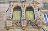 Paladini palace. Lecce. Puglia. Italien. — Stockfoto