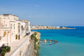 Panoramic view of Otranto. Puglia. Italy. — Stockfoto