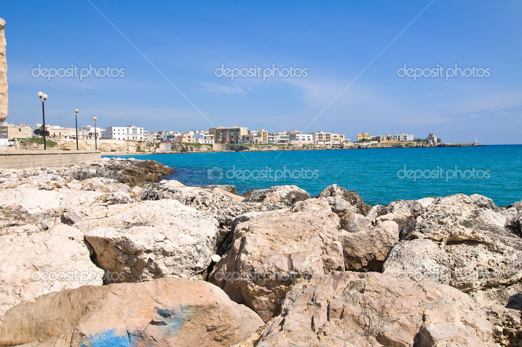 Panoramic view of Otranto. Puglia. Italy. — Stock Photo #10900529