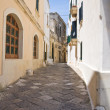 Alleyway. Otranto. Puglia. Italy. - Photo