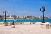 Panoramic view of Otranto. Puglia. Italy. — Stock Photo