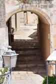 Alleyway. Otranto. Puglia. Italy. — Stock Photo