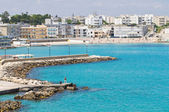Panoramic view of Otranto. Puglia. Italy. — Stockfoto