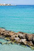 Panoramic view of Otranto. Puglia. Italy. — Stock Photo