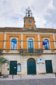 Municipal building. Calimera. Puglia. Italy. — Stock Photo