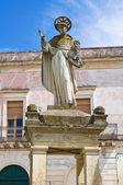 Well of St. Domenico. Cavallino. Puglia. Italy. — Stock Photo