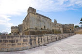 Castillo de acaya. vernole. puglia. italia. — Foto de Stock
