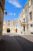 Ducal palace of Castromediano-Limburg. Cavallino. Puglia. Italy. — Stock Photo