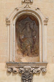 Mother Church. Calimera. Puglia. Italy. — Stock Photo