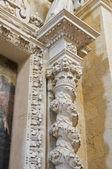 Church of St. Maria della Grazia. Lecce. Puglia. Italy. — Stock Photo