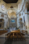Church of St. Chiara. Lecce. Puglia. Italy. — Stock Photo