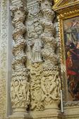 Iglesia de santa irene. lecce. puglia. italia. — Foto de Stock
