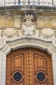Carafa Palace. Lecce. Puglia. Italy. — Stock Photo