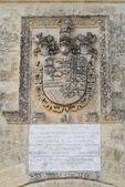 St. oronzo kapısı. acaya. vernole. puglia. i̇talya. — Stok fotoğraf
