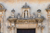 Mother Church. Cavallino. Puglia. Italy. — Stock Photo