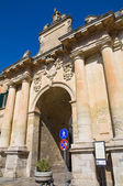 St. Biagio Gate. Lecce. Puglia. Italy. — Stock Photo