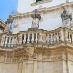 Duomo Square. Lecce. Puglia. Italy. — Stock Photo #11007826