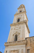 Cathedral Belltower. Lecce. Puglia. Italy. — Stock Photo