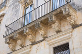 Donadeo - Tafuri palace. Lecce. Puglia. Italy. — Stock Photo