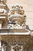 Church of St. Chiara. Lecce. Puglia. Italy. — Stock Photo