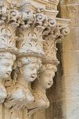 Palácio grassi. lecce. puglia. itália. — Foto Stock