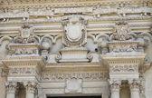 Basílica de santa croce. lecce. puglia. itália. — Foto Stock