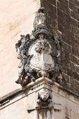 Tafuri palace. Lecce. Puglia. Italy. — Stock Photo