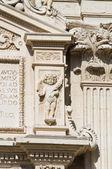 Cathedral of Lecce. Puglia. Italy. — Stock Photo