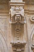 Bozzi - corso 宮殿。レッチェ。プーリア州。イタリア. — ストック写真