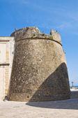 Mura fortificate. Otranto. Puglia. Italia. — Foto Stock