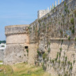 Stock Photo: Fortified walls. Otranto. Puglia. Italy.