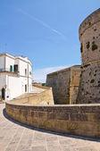 Zamek aragoński otranto. puglia. włochy. — Zdjęcie stockowe