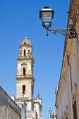 Mother Church of SS Assumption. Sternatia. Puglia. Italy. — Stock Photo