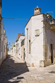 Alleyway. Sternatia. Puglia. Italy. — Stock Photo