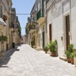 Alleyway. Martano. Puglia. Italy. — Foto Stock
