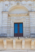 Historical palace. Martano. Puglia. Italy. — Stock Photo