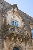 Pino palace. Martano. Puglia. Italy. — Stock Photo