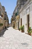Alleyway. Martano. Puglia. Italy. — Stock Photo