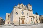 Mor kyrka st. giorgio. Melpignano. Puglia. Italien. — Stockfoto