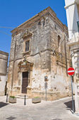 Igreja de st nicola. soleto. puglia. itália. — Fotografia Stock