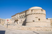 De Monti Castle of Corigliano d'Otranto. Puglia. Italy. — Stock Photo