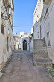 Gränd. Corigliano d'otranto. Puglia. Italien. — Stockfoto
