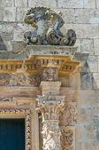 Church of Rosary. Martano. Puglia. Italy. — Stockfoto
