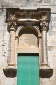 Historical palace. Castrignano de' Greci. Puglia. Italy. — Stock Photo