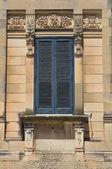 歴史的な宮殿です。martano。プーリア州。イタリア. — ストック写真