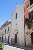 Church of St. Maria of Nazareth. Barletta. Puglia. Italy. — Stock Photo