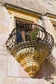 Historical palace. Corigliano d'Otranto. Puglia. Italy. — Stockfoto