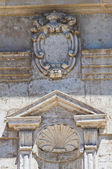 Church of St. Gaetano. Barletta. Puglia. Italy. — Foto de Stock